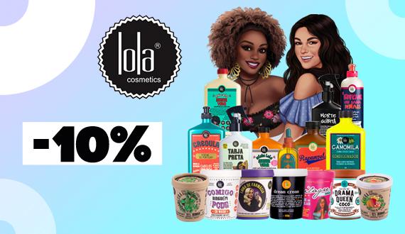 Descuento del 10% en Lola Cosmetics