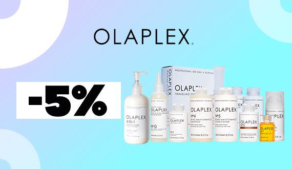 OLAPLEX con 5% de descuento