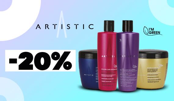 Productos Artistic Hair con un 20% de descuento